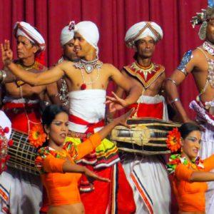 Colourfull show at Kandy
