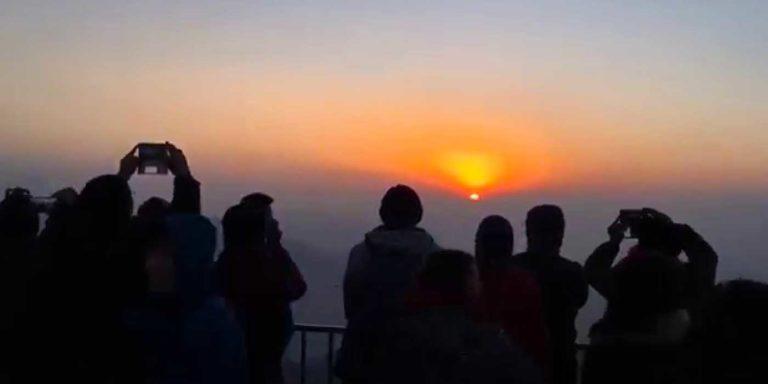 3 Sunrise view