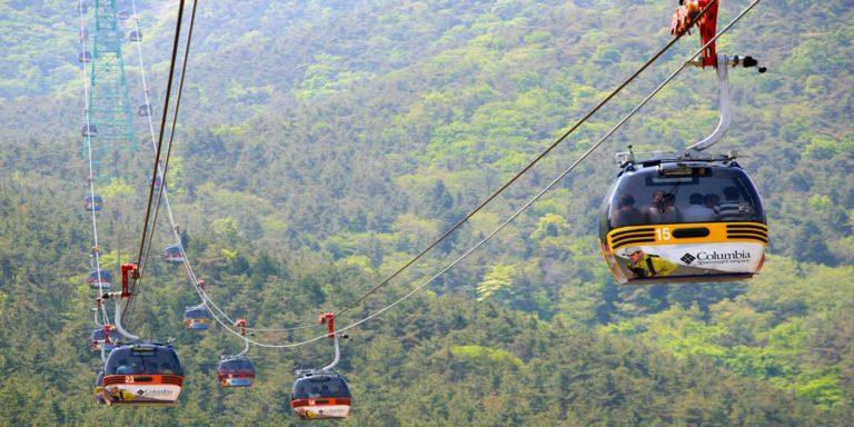 4 Mt Mireuksan by Cable Car Tongyeong