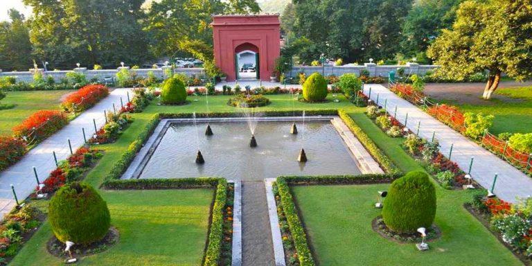 8 Mughal Garden